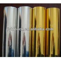 Quality Printable Beer Lable Silver Foil Paper Roll Hair Line Type Abrasion Resistance for sale