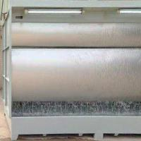 Quality Water curtain spray booth, Water Curtain Spray Cabinet made of Full Stainless Steel for Furniture And Equipment Surface for sale