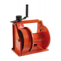 China 250kg to 1500kg orange Hand Lifting Winch for terminals / construction / marine use on sale