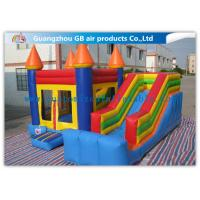 Quality Inflatable Bounce House Slide , Colorful Inflatable Jumping Castles For Rent for sale