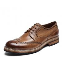 China Genuine Leather Men'S Wedding Dress Shoes Handmade Mens Casual Leather Shoes on sale