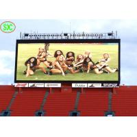 China Slim P10 Gaint Outdoor Full Color Led Display Screen Used For Stadium football/volleyball basketball Match on sale