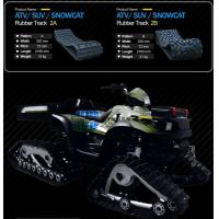Quality ATV Rubber Crawler for sale