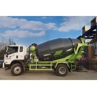 Quality Low Residual Rate Concrete Mixer Truck , 6 M3 Volumetric Concrete Truck for sale