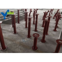 Quality Wear resistant ceramic lined elbow stainless steel pipe for sale