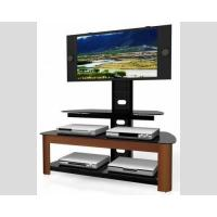 HB-365W TV Media Stand , TV Media Console With Mounted Swivel  Tilt Bracket