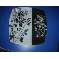 China Craft Glass Plate / Glass Decal Plate / Toughened Glass Decal Plate (CRTGP-05) on sale