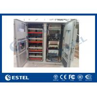Quality Reasonable Layout Assembled Base Station Cabinet Outdoor Rack Enclosure With Battery Compartment for sale