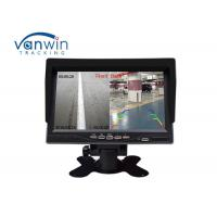 Quality 7 inch in dash car monitor with camera & cable rear view car security system for sale