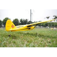 China 4CH 2.4GH RTF Piper J3 Cub Ready to Fly RC Plane Radio Controlled Gyro Flyer RC Helicopter on sale