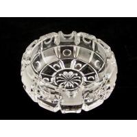 China Decrative crystal ashtray with lighter set on sale