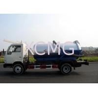 Quality Self-Flow Emission Special Purpose Vehicles , Septic Pump Truck For Transporting Feces & Sludge & Screes for sale