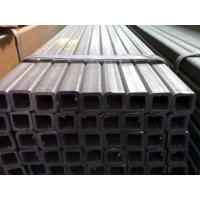 Quality High Frequency Welding Hollow Steel Pipe , Steel Rectangular Tubing For Building Material for sale