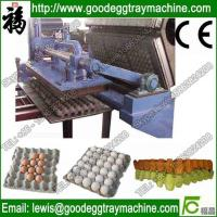 Quality 30 holes paper pulp injection egg tray for sale