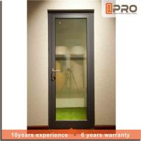 Quality Multi Color Aluminium Hinged Doors With Powder Coated Surface Treatment for sale