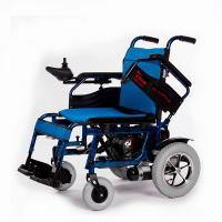 Simple Elderly Disabled Folding Electric Wheelchair