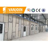 Quality EPS foam additives concrete sandwich wall panels with calcium silicate fiber board for sale