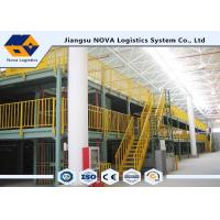 Buy cheap NOVA Corrosion Proof Multi Tier Racking System For Mezzanine customer size from wholesalers