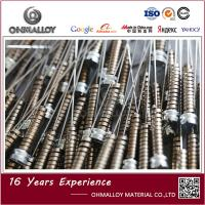 Quality Ohmalloy5j1580 Strip 10mm 20mm Width Bi Metal Strip For Bimetallic Thermometer for sale