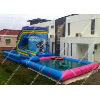 Buy cheap frozen theme inflatable water slide water sport for summer
