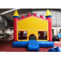 China Attraction Moonwalk Bouncy Castle Theme Banner Jumpy House For Adults on sale