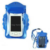 Promotional Gift Waterproof Case Bag , Underwater Phone Pouch With Armband / Landyard
