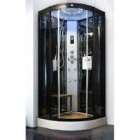 China Sliding Open Style Corner Steam Shower Bath Cabin Spa Shower Units With Radio on sale