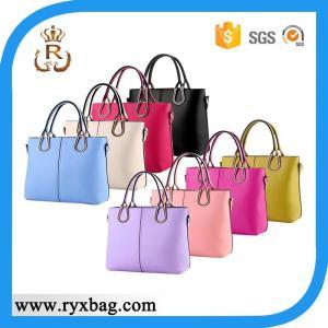 China Newest lady fashion PU leather handbag on sale