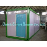 Quality Rustproof Prefab Shipping Container Home , Folding Contemporary Modular Homes for sale