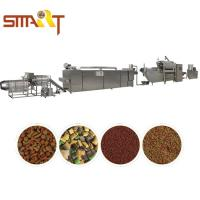 Quality 500kg Production Capacity Pet Food Making Machine Double Screw Extruder for sale
