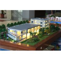 Quality 1 / 100 Scale Villa 3D Model Villa Resort Type Painted / Layered Color for sale