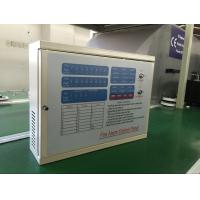 Quality Fire alarm control panel with 8 zones for smoke detector fire alarm heat detector ,with ISO9001,AC power wired type for sale