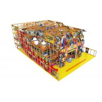 Childrens Indoor Soft Playground Equipment Anti - Static For Amusement Park for sale