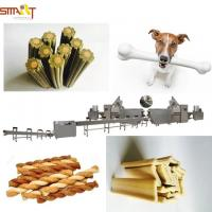Quality Chews Dog Food Treats Making Machine / Dog Treats Extruder 1 Year Warranty for sale