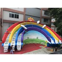 China Top Selling 0.55mm PVC Used Inflatable Slide for Sale wth CE with Swimming Pool on sale