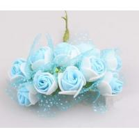 Quality Multicolor handmade EVA Rose Flower Head Artificial for sale