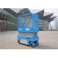 Buy cheap Commercial Self Propelled Scissor Lift 2.76*1.25*2.6m Overall Dimensions from wholesalers