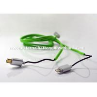 Quality 1M Zipper Lightening/ Micro USB Data Transfer Cable for Apple and Android Phones for sale