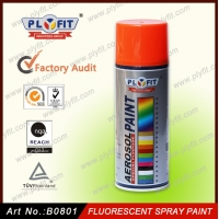 Quality 15 Min Fluorescent Spray Paint 400ml Quick Drying Lacquer Spray for sale