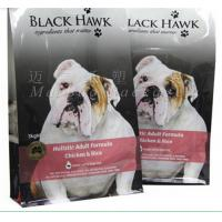 China Pet Food Packaging Flat Bottom Pouch Bag , Custom Printed Resealable Food Bags on sale