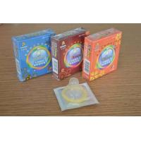Quality Custom Fitted Natural Latex G Spot Condom , Different Colored long duration condoms for sale