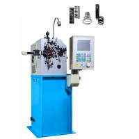 Quality High Accurate Used Spring Coiling Machine , 2 Axis Control Wire Forming Equipment for sale