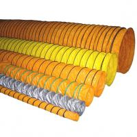 Quality Durable PVC Ventilation Duct Tube / PVC Ventilating pipe leakage resistant for sale