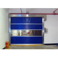 Quality Industrial High - Wind Area High Speed Door With Strong Wind Bar AC 220V - 240V for sale