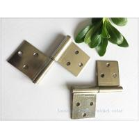 Quality Nickel Plated Kitchen Cabinet Hinges Bright Color Folding Function Furniture Hardware for sale