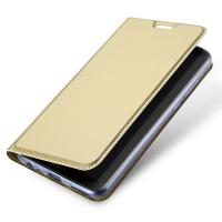 Quality Gold Huawei Phone Cases / Huawei Mate 10 Lite PU Leather Phone Cover With Magnet Gold for sale
