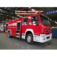 Quality Sinotruck 4x2 fire truck 8ton sell Thailand for sale