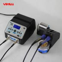 Quality YIHUA 938D+ Anti-static Double Soldering Iron Handles Soldering Station With Unique Stand for sale