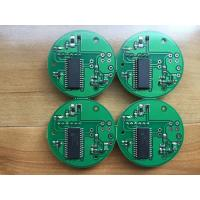 2 Layer Prototype PCBA Assembly 1OZ Green solder mask small boards makeup