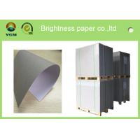 Quality Recycled Premium Coated A4 Paper Board , Hard Stiffness Beverage Board Paper for sale